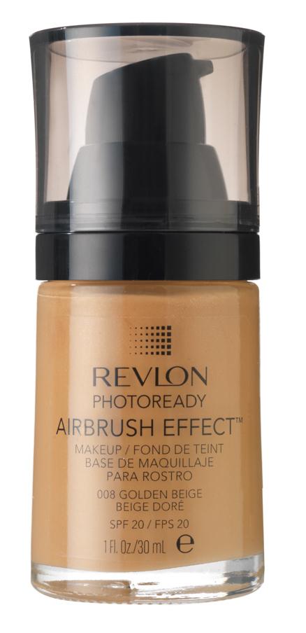 REVLON Крем тональный 008 / Photoready Airbrush Effect Makeup Golden beige
