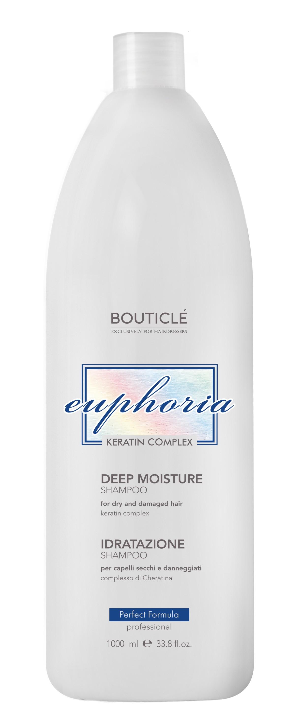 BOUTICLE Шампунь увлажняющий с Keratin Complex для волос / Deep Moisture Shampoo 1000 мл