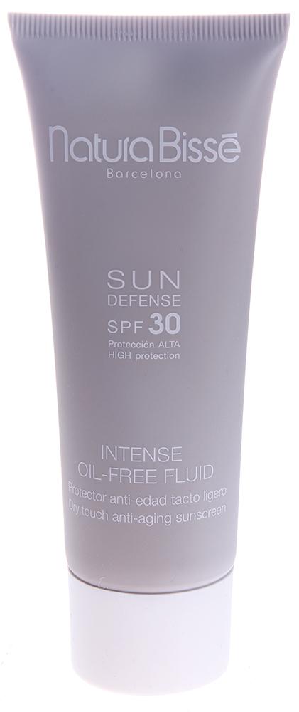 NATURA BISSE Эмульсия солнцезащитная для лица SPF30 / Intensive Oil-Free Fluid SUN DEFENSE 75мл