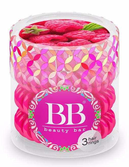 BEAUTY BAR Резинка для волос Beauty Bar / Малиновый