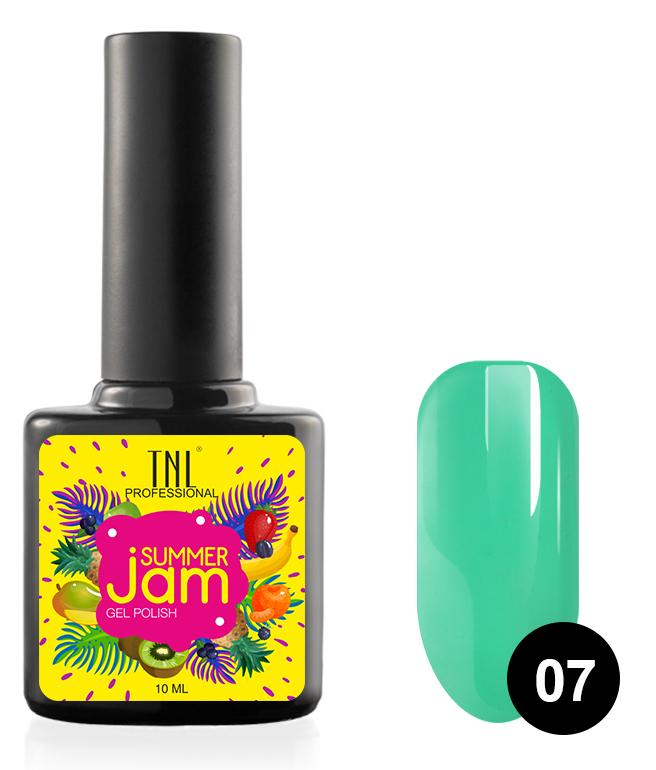 Купить TNL PROFESSIONAL 07 гель-лак для ногтей, травянистый / Summer Jam 10 мл, Зеленые