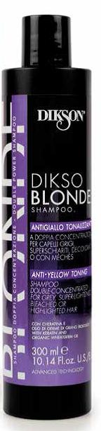 Купить DIKSON Шампунь тонирующий против желтизны волос / DIKSO BLONDE 300 мл