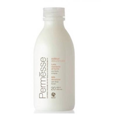 BAREX Молочко-оксигент с маслом карите (30vol.) 9% / PERMESSE 1000млОкислители<br>Окисляющая эмульсия с кремообразной структурой специально разработана для синергичной работы с кремом-краской и обесцвечивающим порошком Permesse. При смешивании с крем - краской и порошком образует однородную, пластичную, удобную в работе смесь. Защищает волосы и кожу головы во время услуги окрашивания. Бережно относится к структуре волоса, благодаря содержанию ценных активных ингредиентов. Не содержит парабенов и минеральных масел.<br><br>Содержание кислоты: 9%