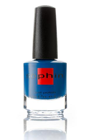 SOPHIN Лак для ногтей, холодный ярко-синий 12мл