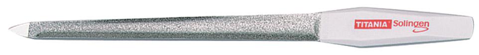 TITANIA Пилка для ногтей 20 см изогнутая 1049/8