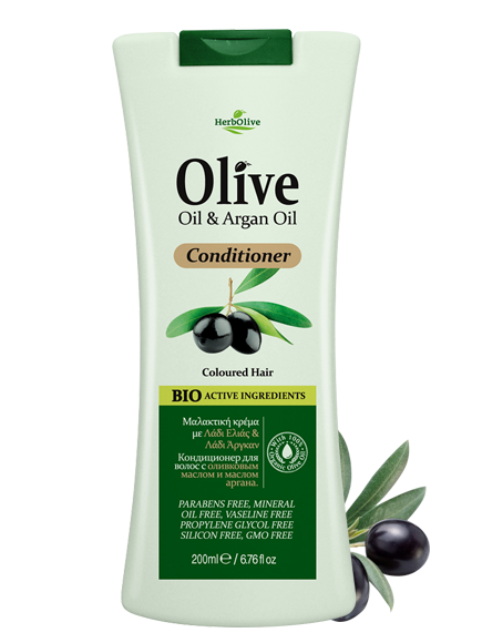 MADIS Кондиционер с маслом арганы для окрашенных волос / HerbOlive 200 мл