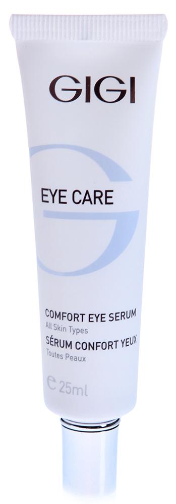GIGI Сыворотка для век / Serum EYE CARE 20млСыворотки<br>Высокоактивная омолаживающая сыворотка, предупреждающая старение кожи и образование морщин. Действие: Имея в своем составе силиконовые частицы и аллантоин, лечебная сыворотка бережно окутывает и укрепляет нежную кожу вокруг глаз. Абсорбирует и выводит все вредные шлаки из окологлазничной области, оказывает мощное антиоксидантное действие. Активизирует вывод продуктов распада гемоглобина. Устраняет проницаемость плазмы, эритроцитов и протеинов путем укрепления стенок капиллярных сосудов. Активные ингредиенты: Haloxyl, Pepha-Tight, Regu-Age, протеины сои и риса, экстракт водорослей, пептидный комплекс, оксидорередуктазы, экстракт водорослей, витамины Е, аллантоин. Способ применения: Наносить утром и вечером на чистую кожу век и кожу вокруг губ круговыми движениями. Для достижения выраженного эффекта, поверх применять интенсивный крем.<br><br>Объем: 20<br>Вид средства для лица: Омолаживающий<br>Класс косметики: Лечебная<br>Назначение: Морщины