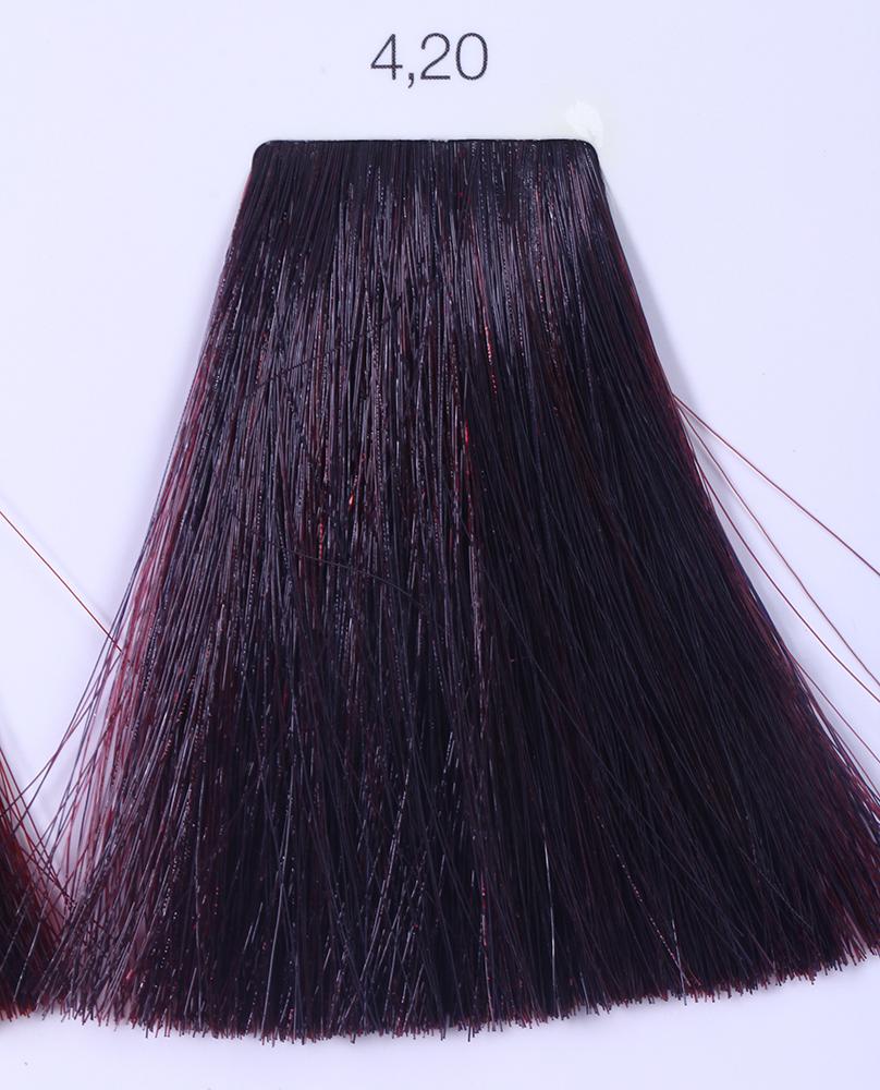 LOREAL PROFESSIONNEL 4.20 краска для волос / ИНОА ODS2 60грКраски<br>INOA - первый краситель, позволяющий достичь желаемых результатов окрашивания, окрашивать тон в тон, осветлять волосы на 3 тона, идеально закрашивает седину и при этом не повреждает структуру волос, поскольку не содержит аммиака. Получить стойкие, насыщенные цвета позволяет инновационная технология Oil Delivery System (ODS) система доставки красителя при помощи масла. Благодаря удивительному действию системы ODS при нанесении, смесь, обволакивая волос, как льющееся масло, проникает внутрь ткани волос, чтобы создать безупречный цвет. Уникальность системы ODS состоит также в ее умении обогащать структуру волоса активными защитными элементами, который предотвращает повреждения и потерю цвета.  После использования красителя окислением без аммиака Inoa 4.20 от LOreal Professionnel волосы приобретают однородный насыщенный цвет, выглядят идеально гладкими, блестящими и шелковистыми, как будто Вы сделали окрашивание и ламинирование за одну процедуру.  Способ применения: Приготовьте смесь из красителя Inoa ODS 2 и Оксидента Inoa ODS 2 в пропорции 1:1. Нанесите смесь на сухие или влажные волосы от корней к кончикам. Не добавляйте воду в смесь! Подержите краску на волосах 30 минут. Затем тщательно промойте волосы до получения чистой, неокрашенной воды.<br><br>Цвет: Корректоры и другие<br>Типы волос: Для всех типов