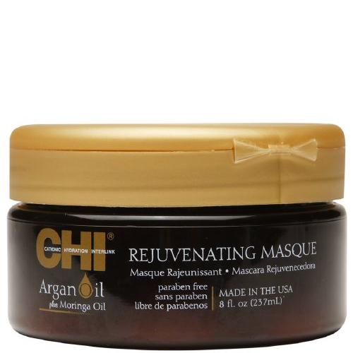 CHI Маска омолаживающая с экстрактом масла арганы и дерева моринга / ARGAN OIL 200 мл -  Маски