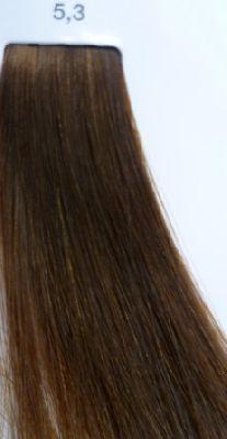 LOREAL PROFESSIONNEL 5.3 краска для волос / ЛУОКОЛОР 50млКраски<br>Крем-краска 5.3 Luo color от LOreal Professionnel придает волосам больше мягкости и блеска, а цвет становится живой и переливающийся. Уникальная технология позволяет индивидуально подойти к каждому волосу, сохраняя природную неоднородность для достижения непревзойденного рельефного цвета. Состав. Система Протект Шайн, Система Рефлект Шайн, масло виноградных косточек Способ применения. Наносить смесь при помощи кисточки на сухие, невымытые волосы. Оставить на 20 минут. Тщательно эмульгировать и ополоснуть водой. При тонировании обесцвеченных волос экспозиция 5-10 минут.<br><br>Цвет: Корректоры и другие<br>Объем: 50