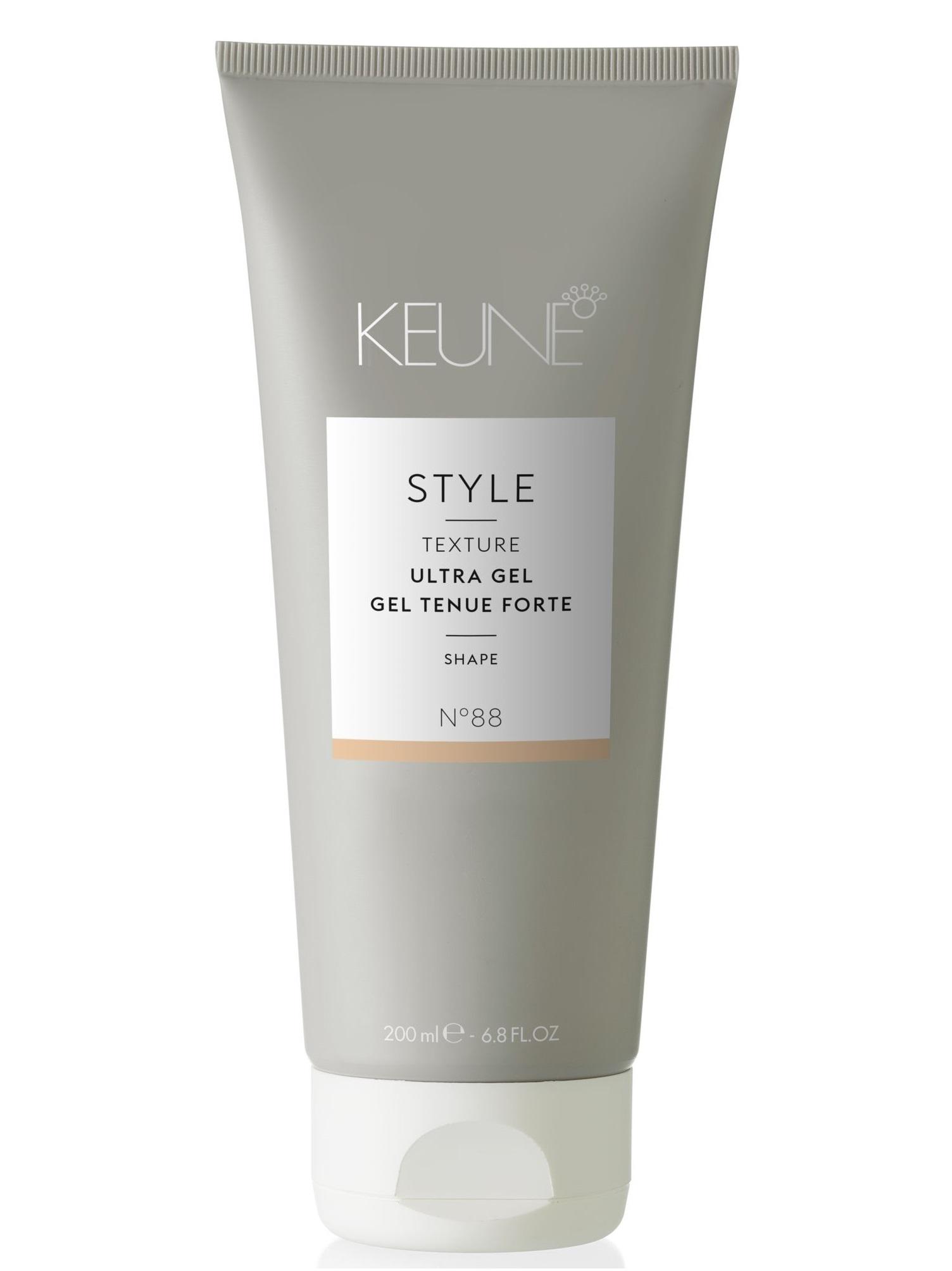 Купить KEUNE Гель ультра для эффекта мокрых волос / STYLE ULTRA GEL 200 мл