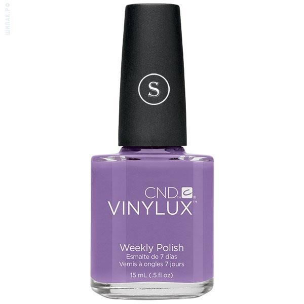 CND 125 лак недельный для ногтей Lilac Longing / VINYLUX 15мл cnd 154 лак недельный для ногтей tropix vinylux 15мл