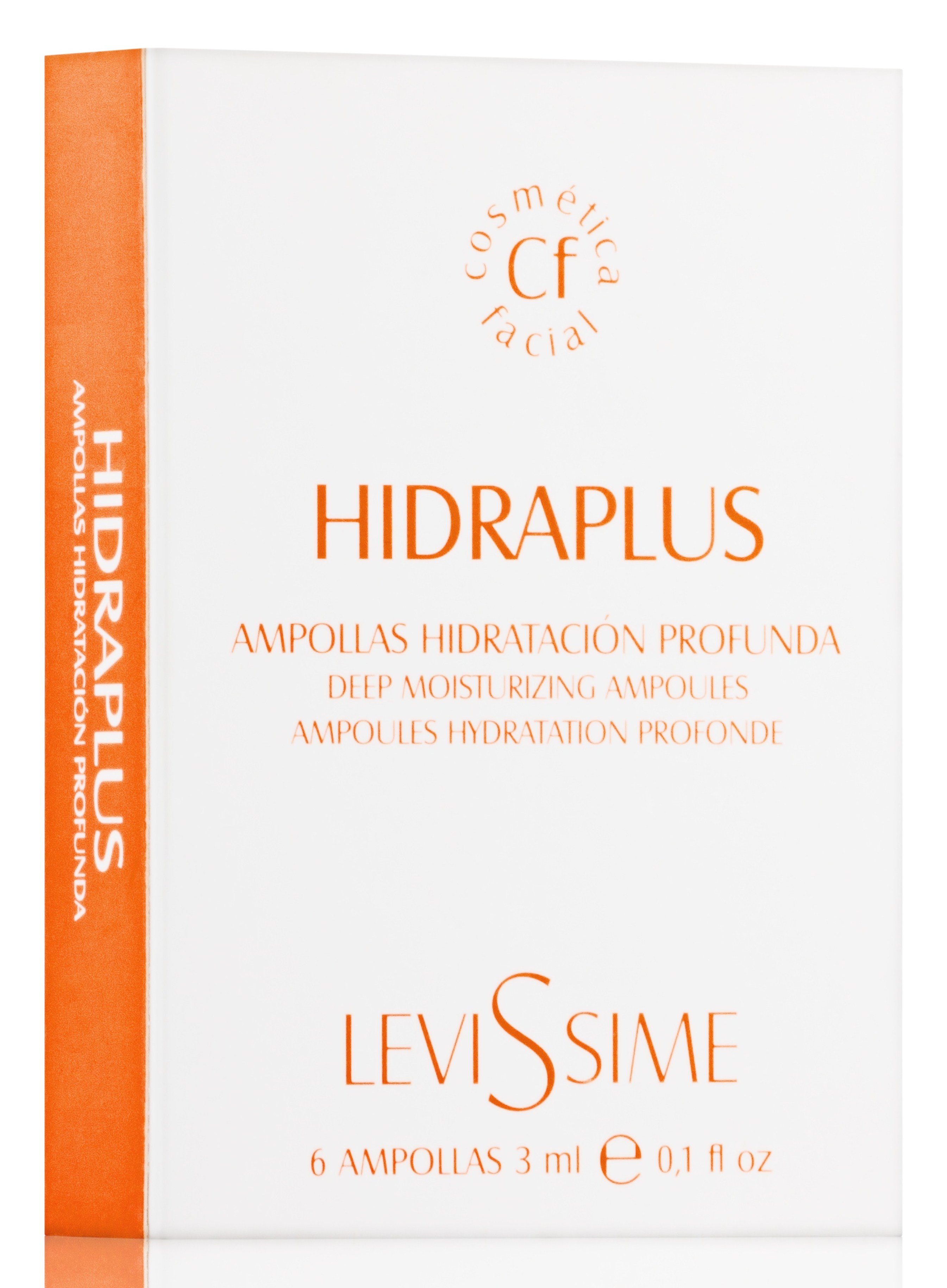 LEVISSIME Комплекс ревитализирующий / Hidraplus 6*3 мл - Ампулы