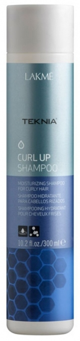Купить LAKME Шампунь увлажняющий для вьющихся волос и волос после химической завивки / CURL UP SHAMPOO 300 мл