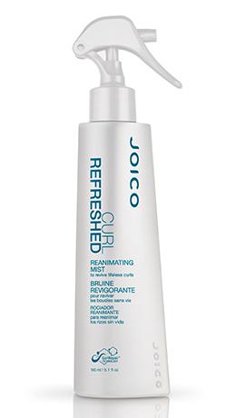 JOICO Реаниматор кудрей / CURL REFRESHED REANIMATING MIST 150млОсобые средства<br>Освежает текстуру волос, реактивирует стайлинговые продукты, придавая волосам дополнительный блеск и гладкость. Легко и непринужденно возвращает локонам природную упругость и ярко выраженную очерченность между процедурами мытья головы. Способ применения: распылите на сухие волосы, придайте руками нужную форму.<br><br>Объем: 150 мл<br>Типы волос: Сухие