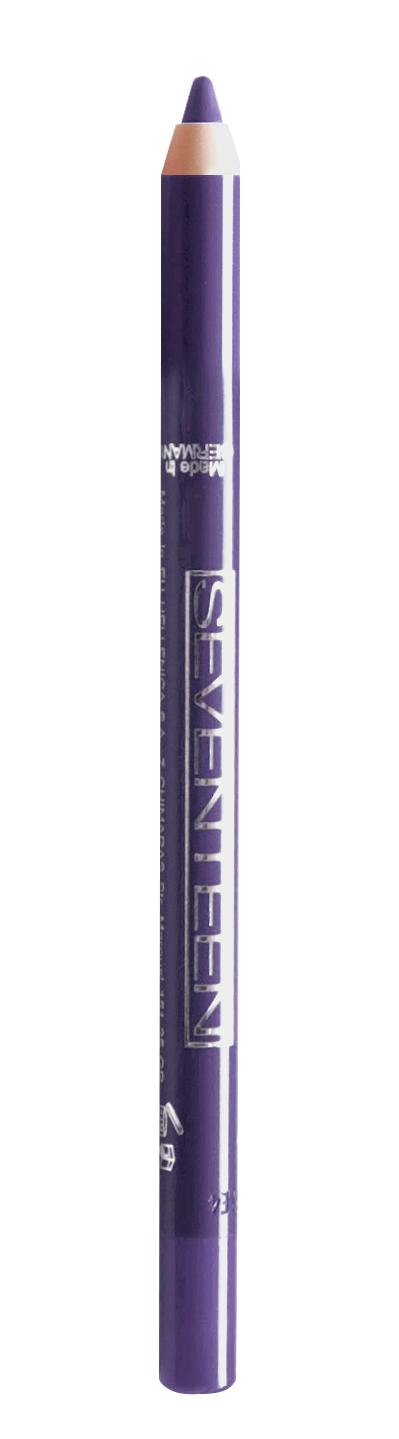 SEVENTEEN Карандаш водостойкий с витамином Е для век, 44 зимний пурпур / Super Smooth W/P & Longstay 1,2 г