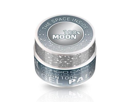 GIORGIO CAPACHINI Гель-краска для дизайна ногтей, серебро 7 мл