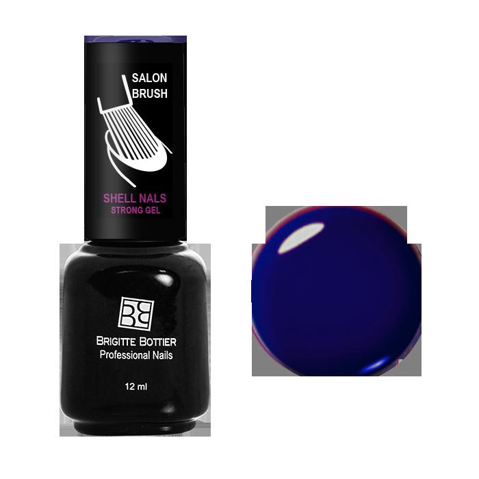 BRIGITTE BOTTIER 977 гель-лак для ногтей Темный синий / Shell Nails 12мл