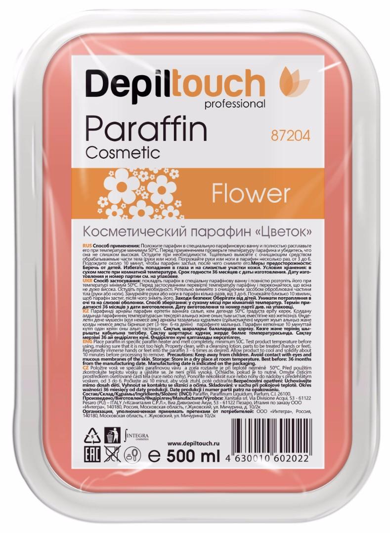 DEPILTOUCH PROFESSIONAL Парафин с комплексом цветочных экстрактов / Depiltouch professional 500 г