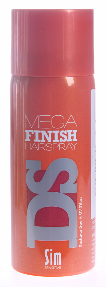 SIM SENSITIVE Лак-аэрозоль Мега Финиш / Mega Finish Hairspray DS 50мл