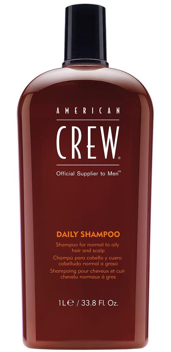 AMERICAN CREW Шампунь для ежедневного ухода за волосами, для мужчин / Daily Shampoo 1000 мл