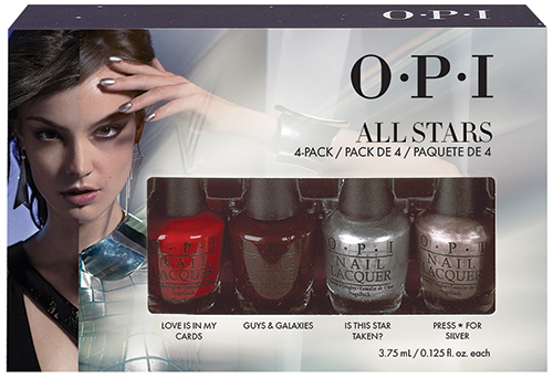 "OPI ���� ���� ����� ""All Stars Stars""(Holiday)(HRG32/34/43/47) 4*3.75��~"