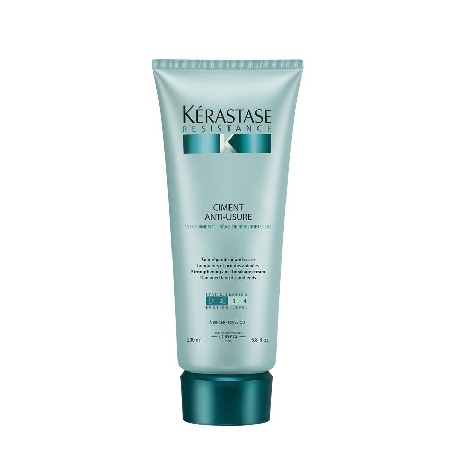 KERASTASE Молочко для поврежденных волос Уход-Цемент Антиузюр / РЕЗИСТАНС 200 мл - Молочко