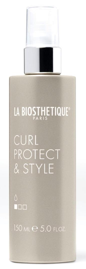 LA BIOSTHETIQUE Спрей термоактивный для укладки и защиты кудрей при использовании плойки / Curl Protect & Style 150 мл спрей labiosthetique heat protector 100 мл