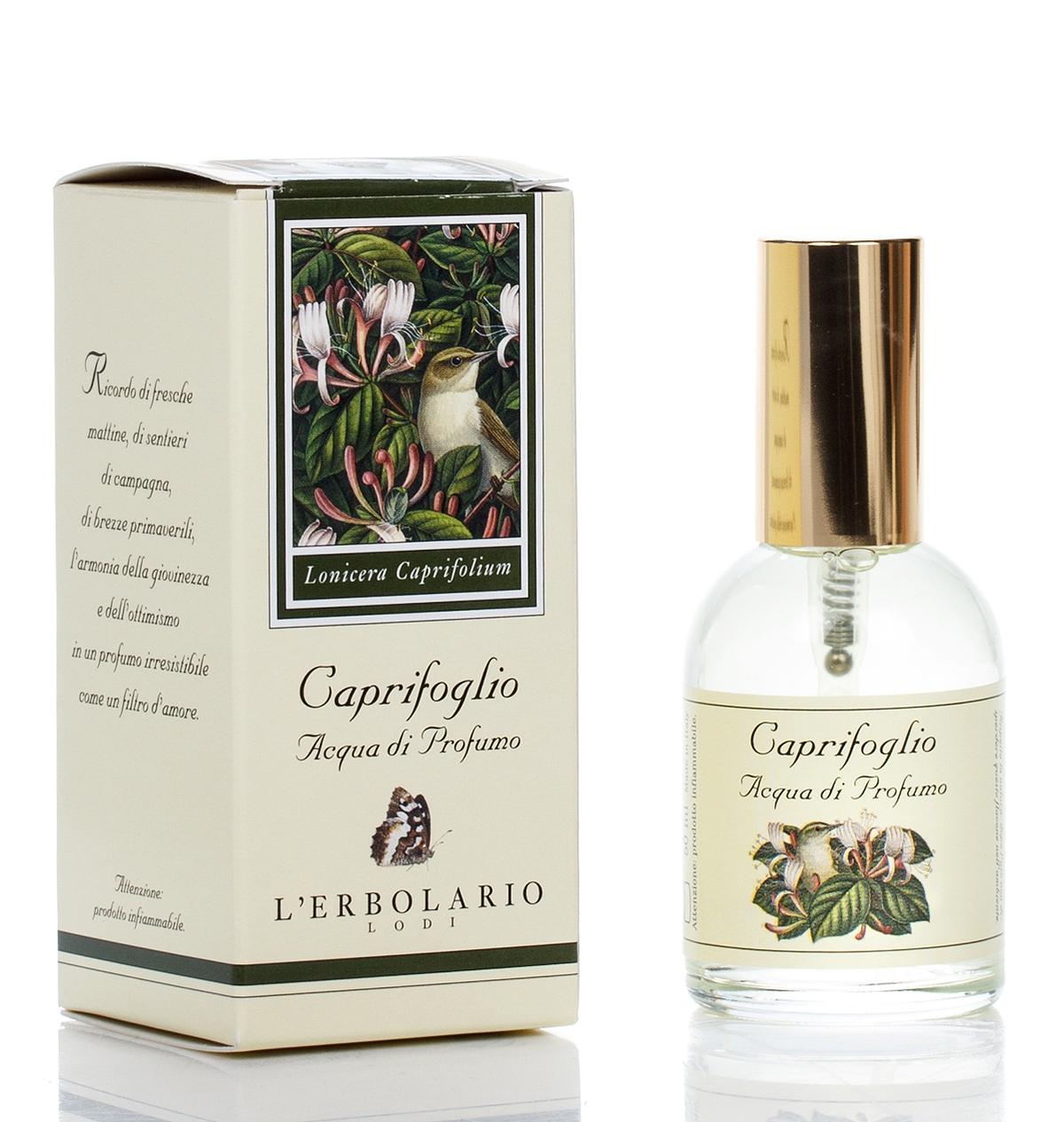 LERBOLARIO Вода парфюмированная Жимолость 50 мл