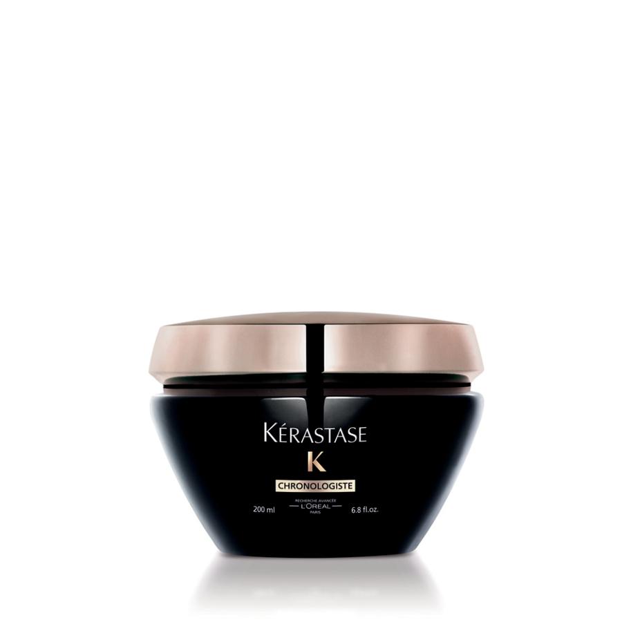 KERASTASE Маска ревитализирующая / CHRONOLOGISTE 200млМаски<br>Ценная маска интенсивного питания и ревитализации волос. Наполняет волосы жизненной энергией, восстанавливает, смягчает и разглаживает поверхность Активные ингредиенты: ревитализирующая маска - совершенный уход, сочетающий ценные активные ингредиенты в идеальной концентрации для оптимального эффекта преображения волос. Уникальная формула, обогащенная ценной молекулой Abyssine/Абиссин, которая синтезируется микроорганизмами, живущими в вулканических глубинах Тихого океана в сочетании с Глико-липидами и Бисабололом, обладает ревитализирующим эффектом.&amp;nbsp; Витамин А и Витамин Е: являются мощными антиоксидантами.&amp;nbsp; Керамиды: Восстанавливающие компоненты, способные заполнять пустоты в поверхности волоса, тем самым делая его структуру более ровной и плотной. Катионные полимеры: придают мягкость и облегчает расчесывание.&amp;nbsp; Способ применения:&amp;nbsp;нанести на отжатые полотенцем волосы, уделяя особое внимание волосам по длине и на кончиках. Оставить для воздействия на 5-10 минут. Тщательно смыть. При попадании в глаза немедленно промыть водой.<br><br>Объем: 200 мл