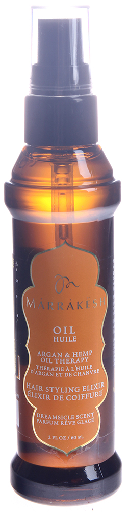 MARRAKESH Масло восстанавливающее для тонких волос Dreamsicle / Marrakesh Oil Dreamsicle 60 мл