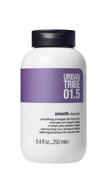 URBAN TRIBE Шампунь сглаживающий для вьющихся волос 01.5 / Shampoo Smooth 250мл