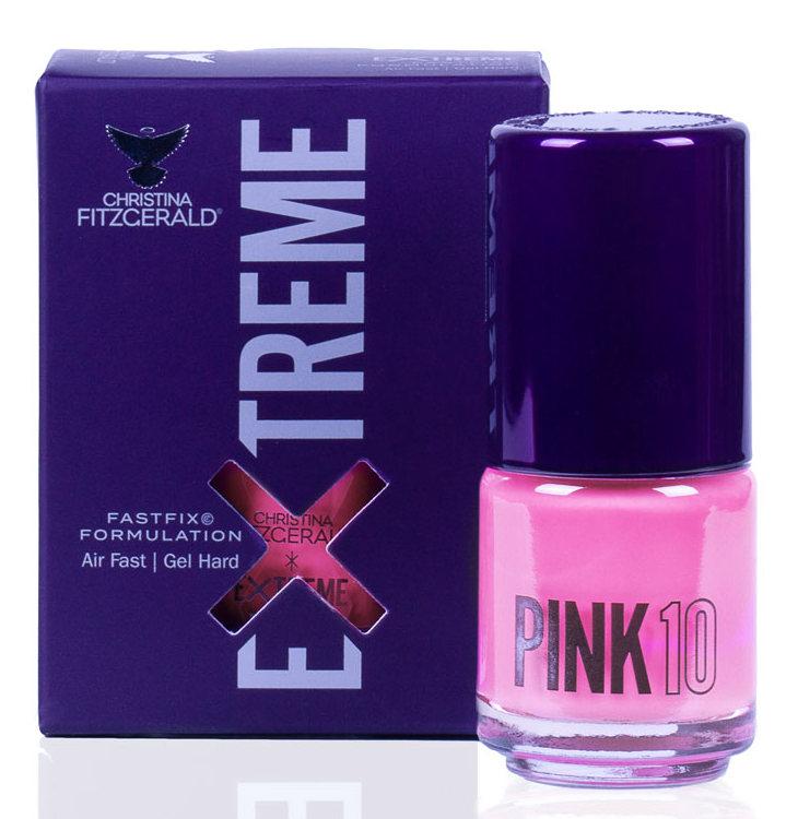 Купить CHRISTINA FITZGERALD Лак для ногтей 10 / PINK EXTREME 15 мл, Розовые