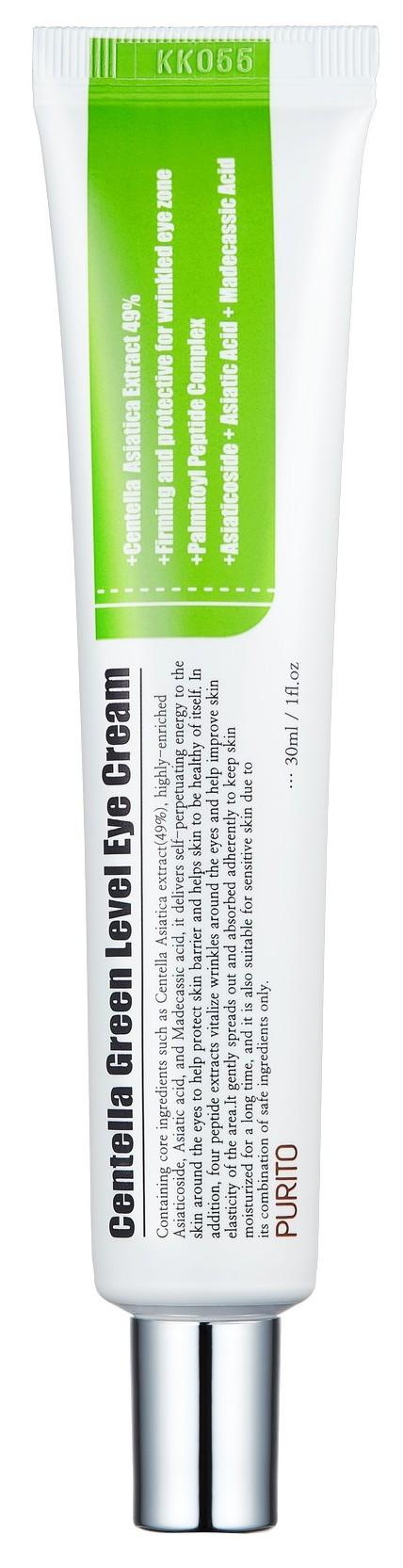 Купить PURITO Крем подтягивающий с пептидами и центеллой для век / Centella Green Level Eye Cream 30 мл