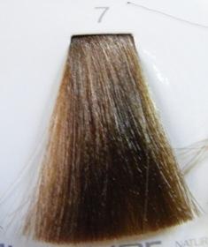 HAIR COMPANY 7 краска для волос biondo / HAIR LIGHT CREMA COLORANTE 100млКраски<br>Профессиональная стойкая крем-краска для волос. Результат последних разработок ведущих специалистов и продукт высоких технологий. Профессиональная стойкая крем-краска Hair Light Crema Colorante богата натуральными ингредиентами и, в особенности, эксклюзивным мультивитаминным восстанавливающим комплексом. Новейший химический состав (с минимальным содержанием аммиака) гарантирует максимально бережное отношение к структуре волос. Применение исключительно активных ингредиентов и пигментов высочайшего качества гарантирует получение однородного и стойкого цвета, интенсивных и блестящих, искрящихся оттенков, кроме того, дает полное покрытие (прокрашивание) седых волос. Тона профессиональной стойкой крем-краски Hair Light Crema Colorante дают возможность парикмахеру гибко реагировать на любые требования, предъявляемые к окраске волос. Наличие 5 микстонов и нейтрального (бесцветного) микстона, позволяет достигать результатов окраски самого высокого уровня. Применение: Смешать Hair Light Crema Colorante с Hair Light Emulsione Ossidante в пропорции 1:1,5. Время воздействия 30-45 мин.<br><br>Цвет: Корректоры и другие<br>Объем: 100<br>Вид средства для волос: Стойкая<br>Класс косметики: Профессиональная