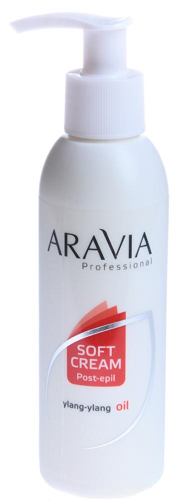 ARAVIA Сливки с маслом иланг-иланг для восстановления рН кожи (флакон с дозатором) 150млЭмульсии<br>Средство устраняет дискомфортные ощущения после эпиляции, быстро снимает раздражение, оказывает успокаивающее и смягчающее действие. Нормализует рН кожи. Оказывает тонизирующее и стимулирующее действие на кожу, улучшает периферическую микроциркуляцию. Сливки очень легкой текстуры, быстро впитываются, не оставляя жирного блеска. Подходят для любого вида эпиляции: биоэпиляции воском, сахаром, электроэпиляции, а также после использования домашнего эпилятора и бритвы. Активные ингредиенты: масло иланг-иланг. Способ применения: использовать непосредственно после депиляции. Нанести небольшое количество сливок на зону депиляции и легкими массажными движениями распределить их на коже.<br>