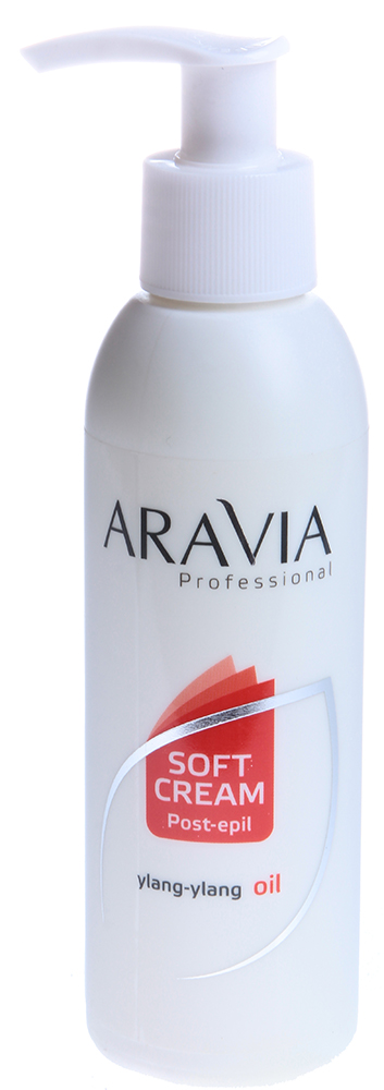 ARAVIA Сливки с маслом иланг-иланг для восстановления рН кожи (флакон с дозатором) 150мл