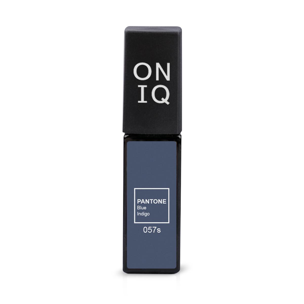 ONIQ Гель-лак для покрытия ногтей, Pantone: Blue Indigo, 6 мл
