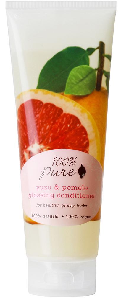 100% PURE Кондиционер для блеска волос, юзу и помело 236 мл