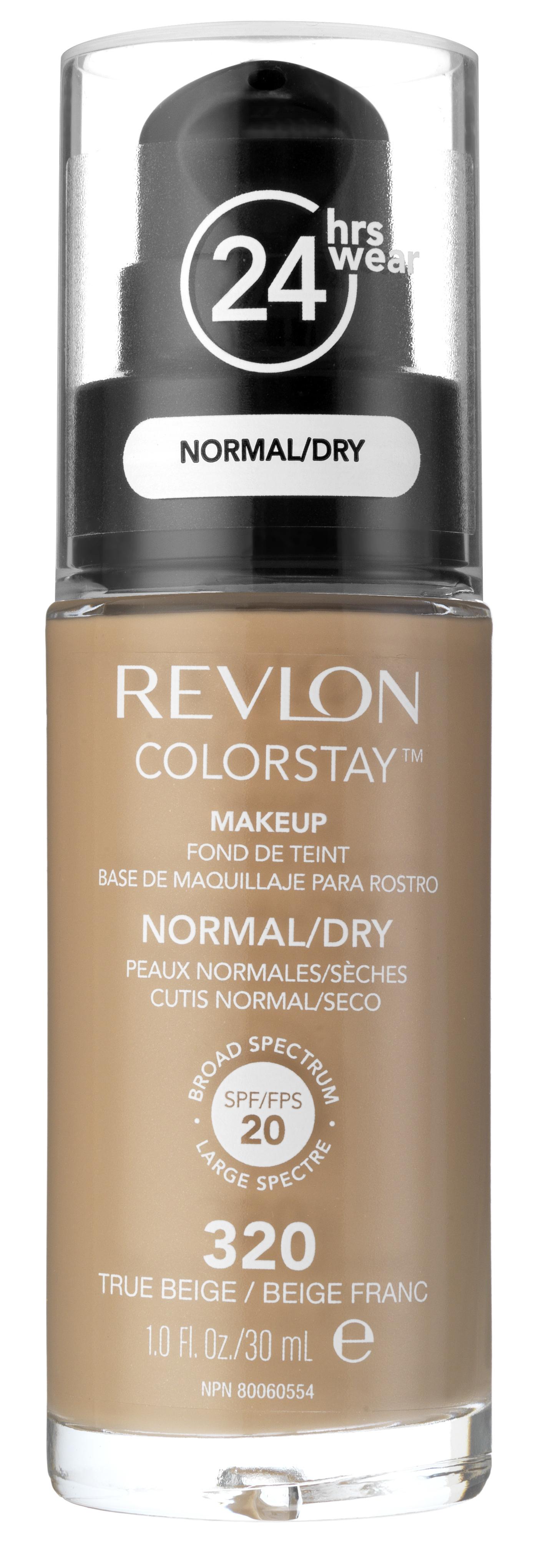 Купить REVLON Крем тональный для комбинированной и жирной кожи 320 / Colorstay Makeup For Combination-Oily Skin True beige