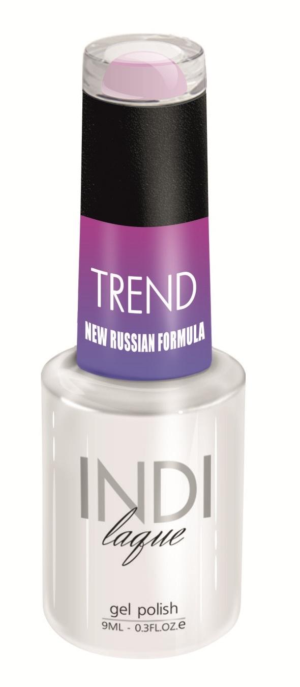 RuNail 5083 гель-лак для ногтей / INDI laque Trend 9 мл, Фиолетовые  - Купить
