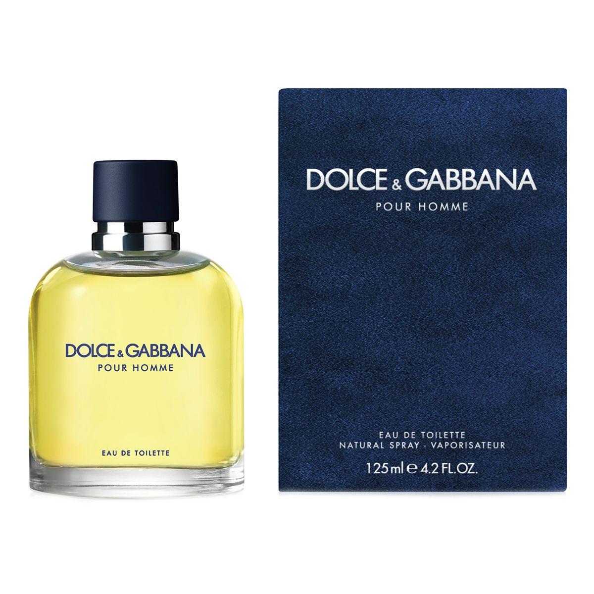 Купить DOLCE&GABBANA Вода туалетная мужская Dolce&Gabbana Dg Pour Homme 125 мл