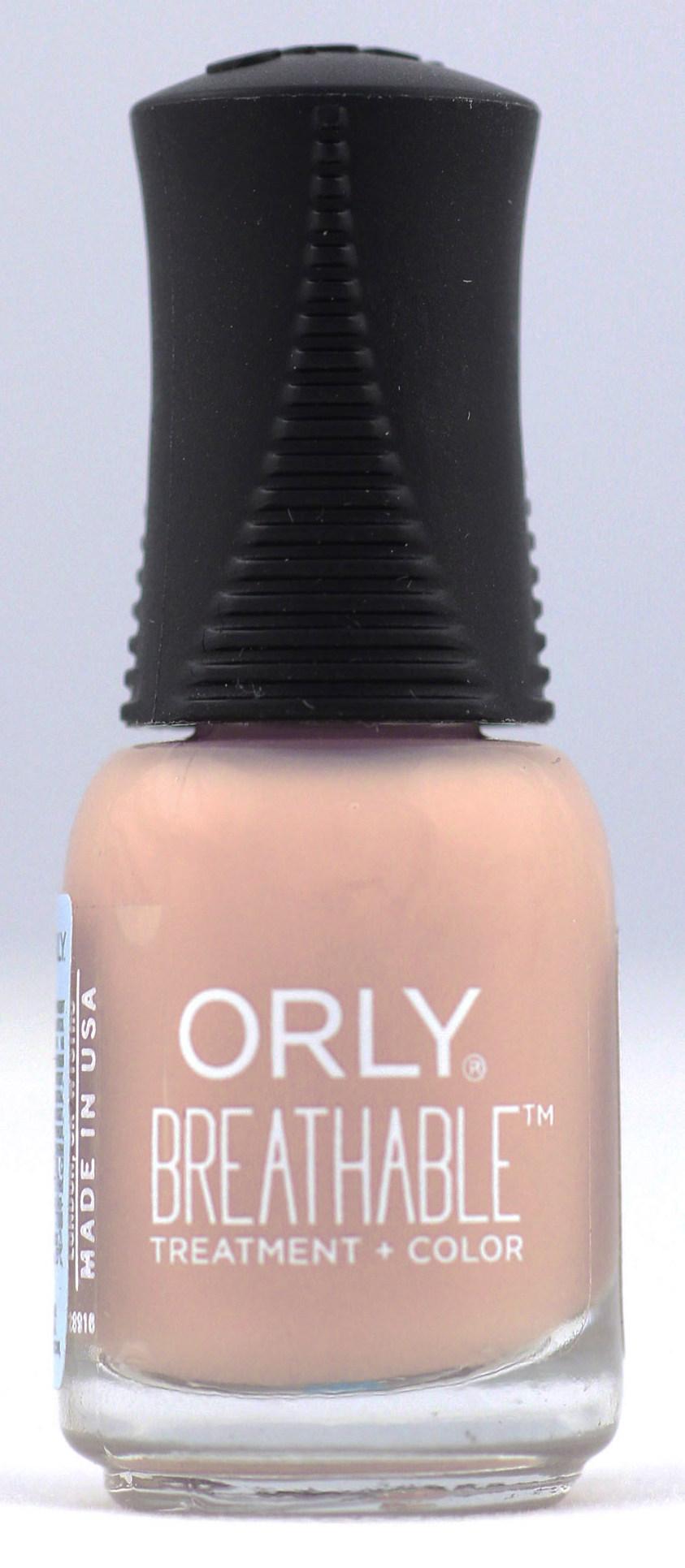 ORLY 907 лак для ногтей / NOURISHING NUDE BREATHABLE 5,3 мл лаки для ногтей orly мини лак для ногтей 678 sheer nude
