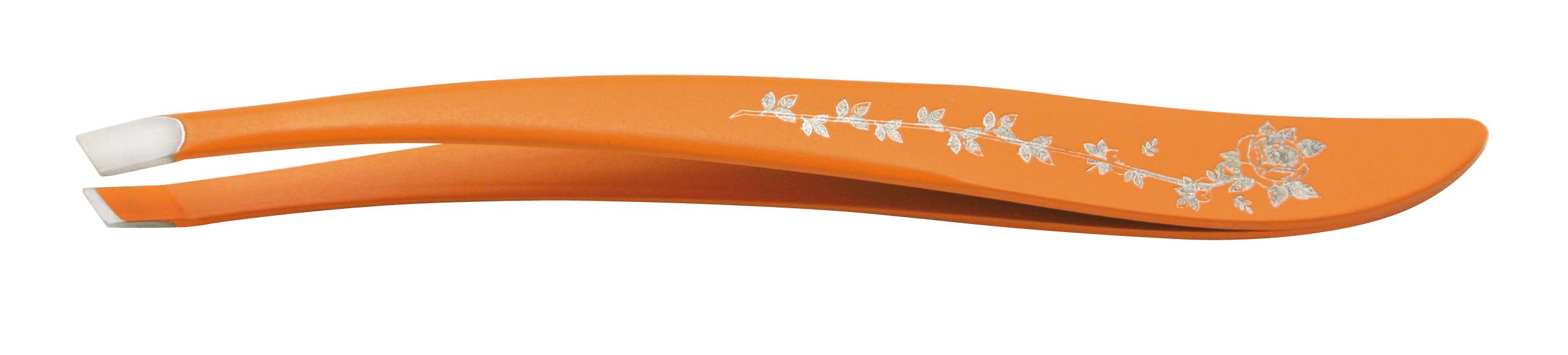 SAM Пинцет для бровей оранжевый