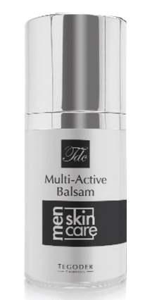 TEGOR Бальзам увлажняющий для мужчин / Multi-Active Balsam FOR MEN 50млЛицо<br>Multi-Active Balsam &amp;mdash; настоящий коктейль из витаминов и минералов на основе редких и ценных природных компонентов, сочетание которых дарит красоту и молодость мужской коже, нуждающейся в особо тщательном уходе. Многофункциональный бальзам интенсивно питает, увлажняет и смягчает кожу, восстанавливает ее упругость и эластичность, обладает высоким регенерирующим, восстанавливающим, ранозаживляющим и реструктуризующим действием, защищает кожу от агрессивного воздействия окружающей среды, нормализует ее водно-солевой баланс, возвращая природную красоту, молодость и здоровый цвет лица. Активные ингредиенты: Натуральный коллаген, коэнзим Q10, аргановое масло, гиалуроновая кислота, трипептид-10. Способ применения: Нанести на очищенную кожу лица легкими массажными движениями. Можно применять сразу после бритья. Подходит для всех типов кожи.<br><br>Пол: Мужской