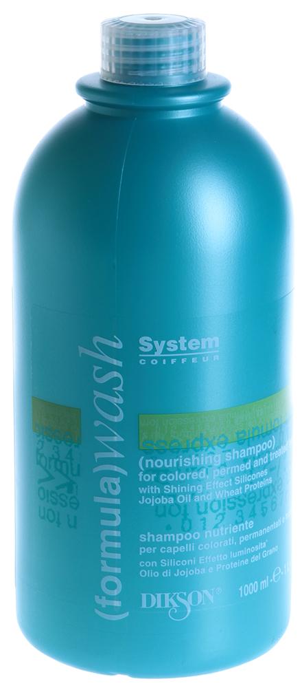 DIKSON Шампунь питательный для окрашенных и поврежденных волос / NOURISHING SHAMPOO WASH 1000мл
