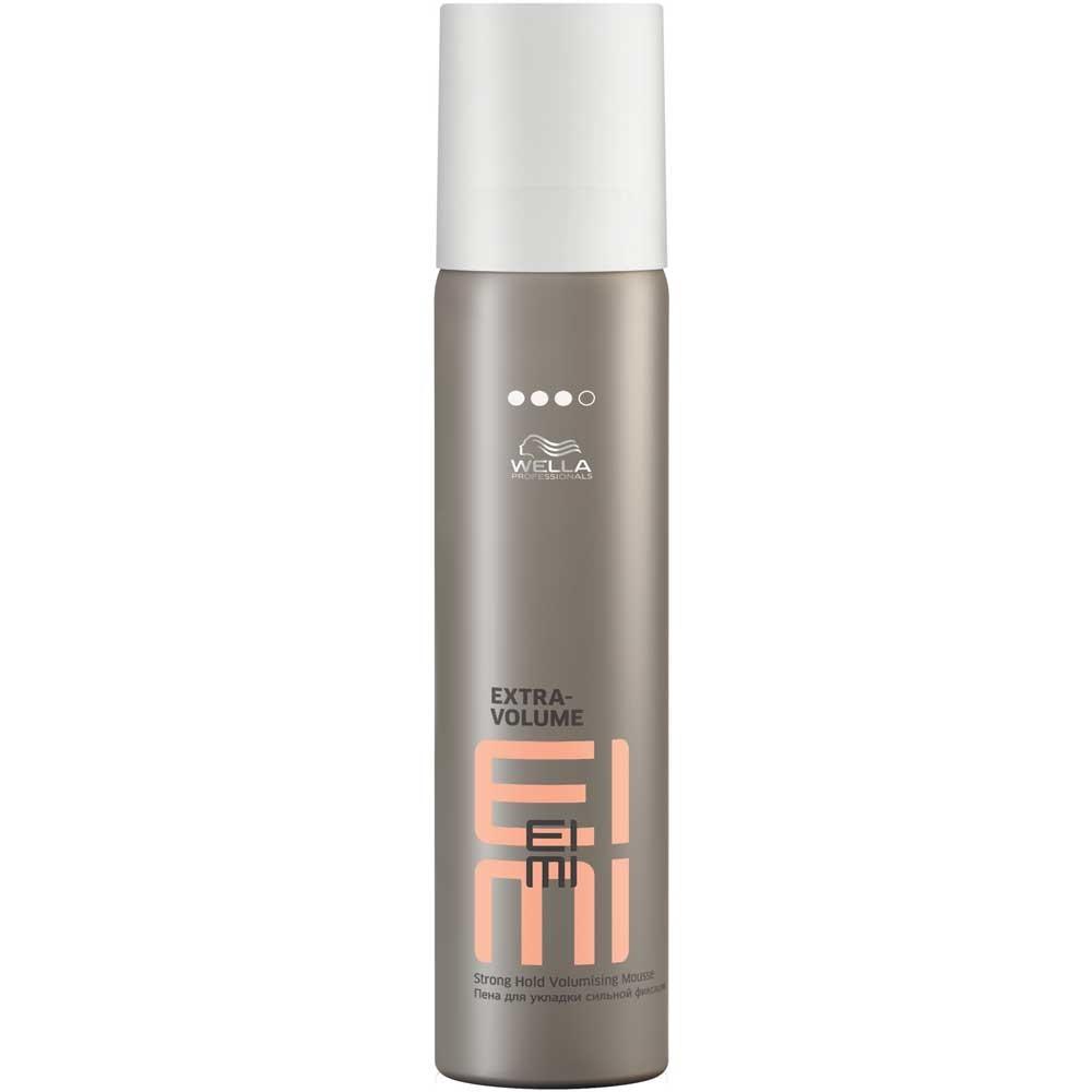 WELLA PROFESSIONALS Пена сильной фиксации для укладки волос / EXTRA VOLUME EIMI 75 мл