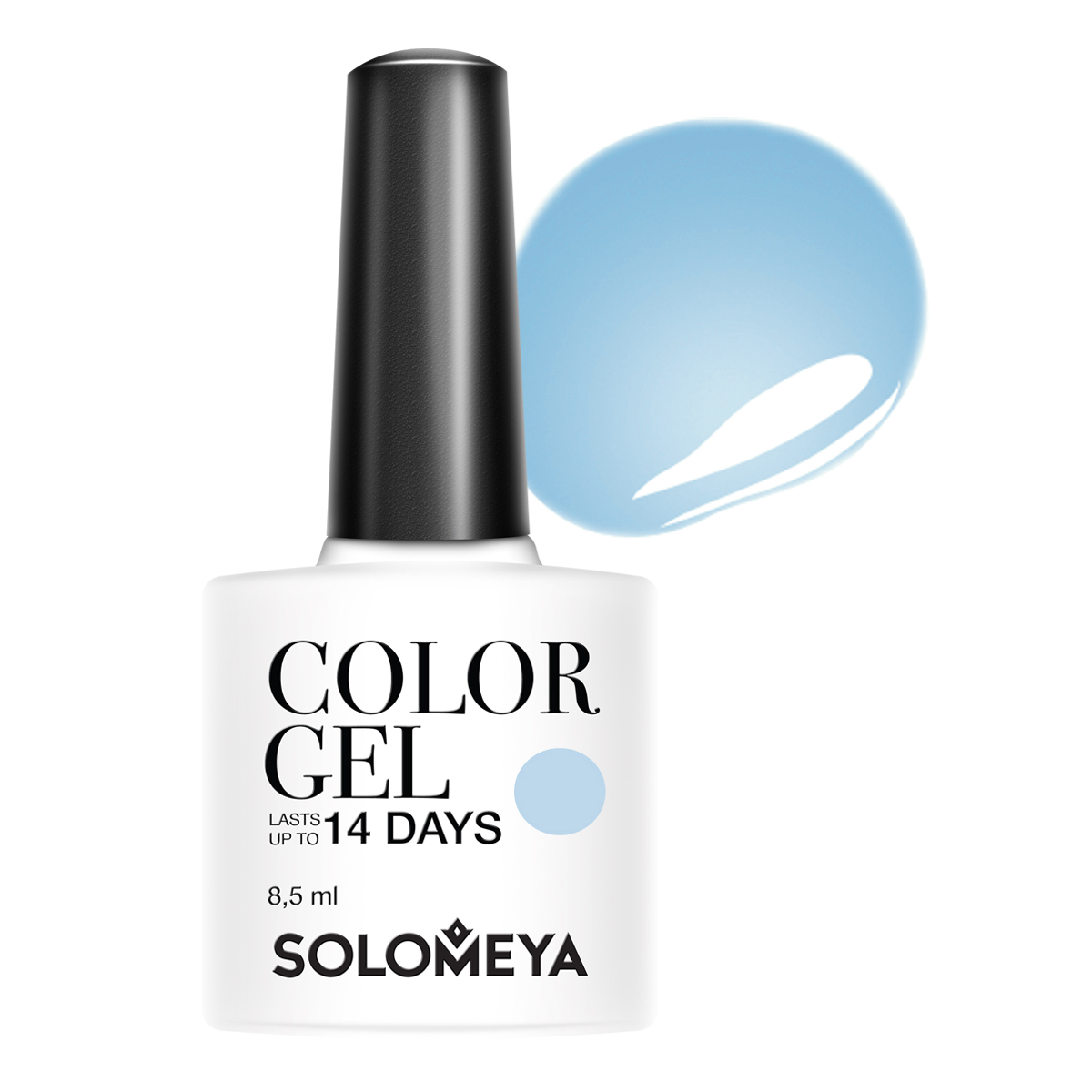 SOLOMEYA Гель-лак для ногтей SCGWB017 Амира / Color Gel Amira 8,5 мл