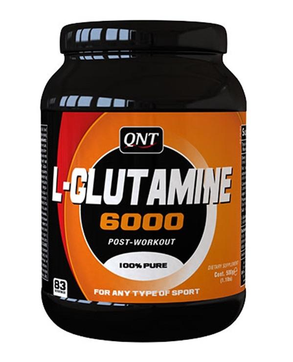 QNT Добавка биологически активная к пище L-Глутамин 6000 / L-Glutamine 6000 Pure 500 г