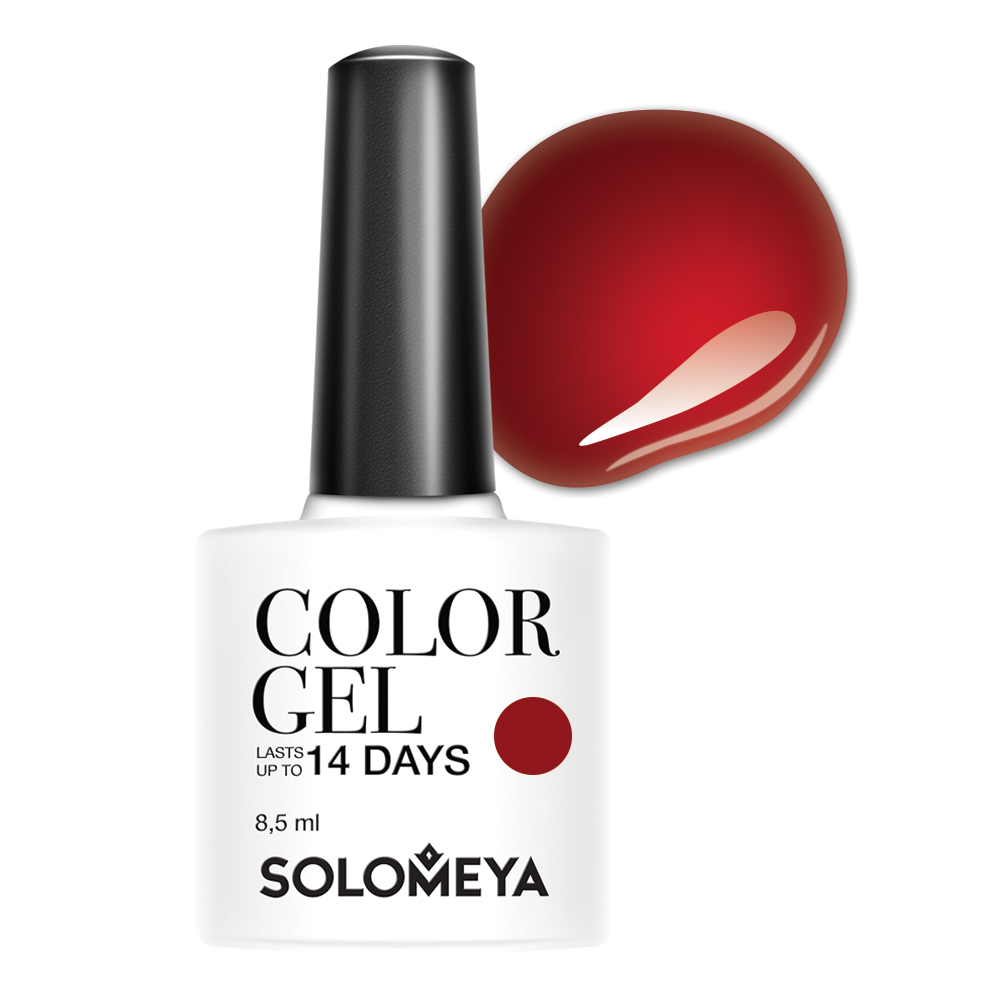 SOLOMEYA Гель-лак для ногтей SCGK093 Мартина / Color Gel Martinа 8,5мл чехол для карточек авокадо дк2017 093
